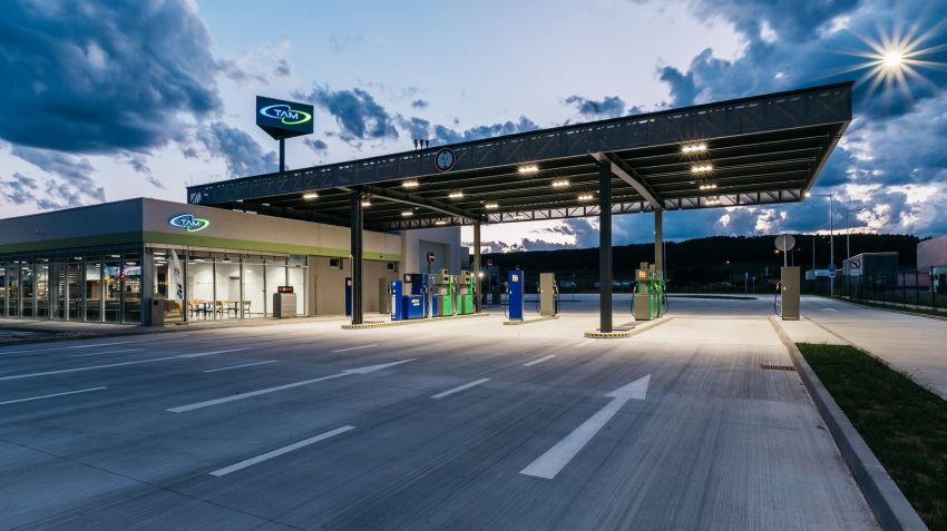 New gas station in Zvolen!