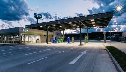 New gas station in Zvolen!